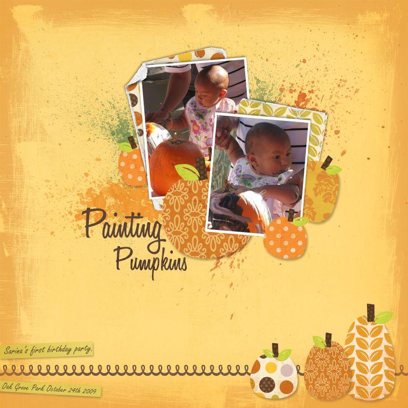 Painting pumpkins copy